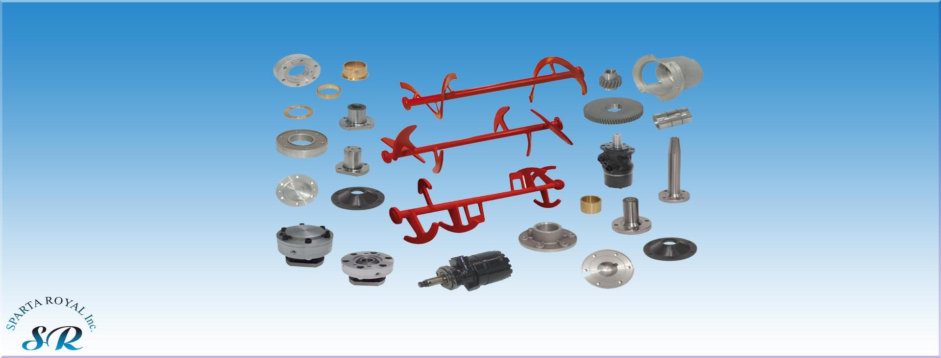Concrete Pump Parts Store - Truck Mixer Parts - Concrete